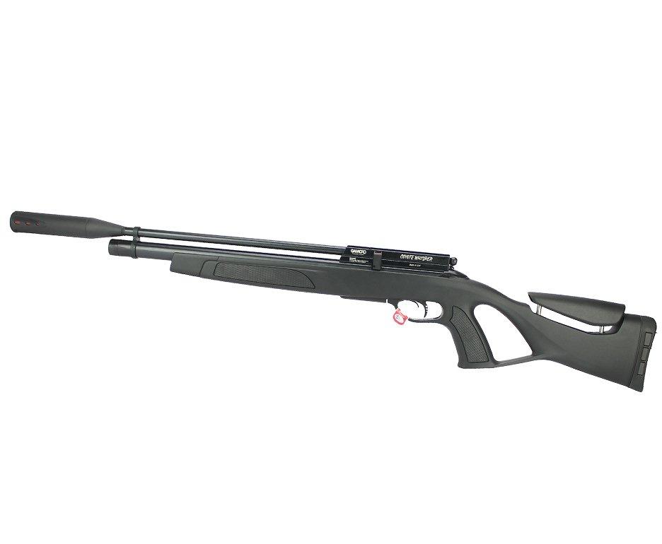 Carabina De Pressão Gamo Pcp Coyote Black Whisper Polimero 5,5mm