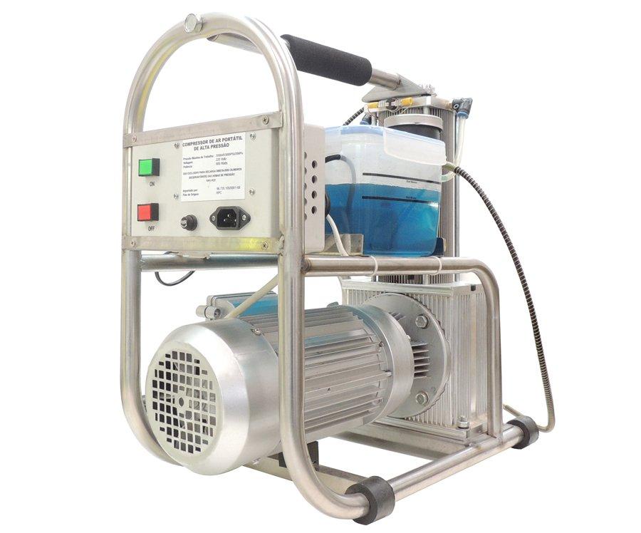 Compressor Portátil Para Pcp (200 Bar) - Rossi