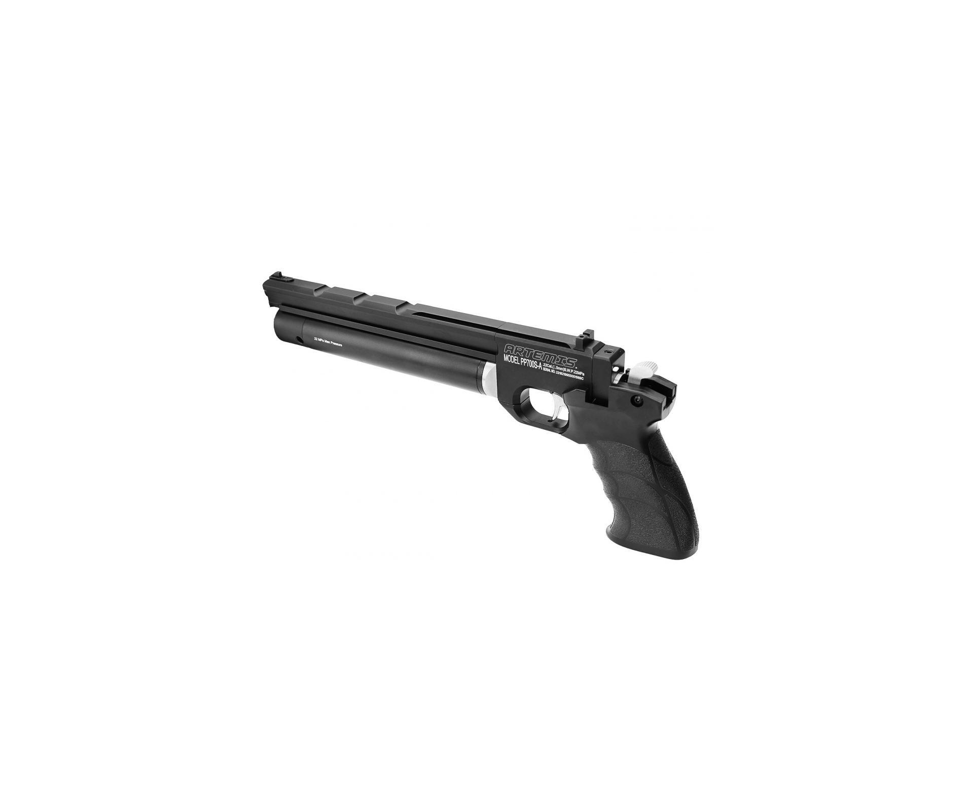 Pistola De Pressão Pcp Pp700s-a Olimpic 4.5mm Artemis