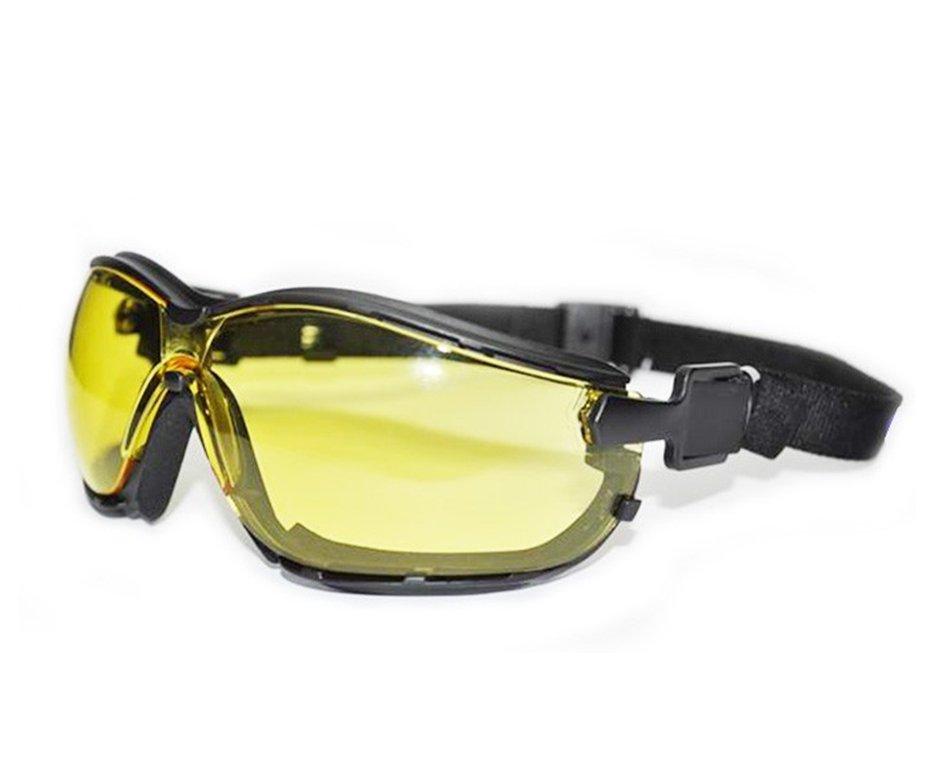 óculos De Proteção Para Airsoft Tahiti Amarelo Af - Kalipso
