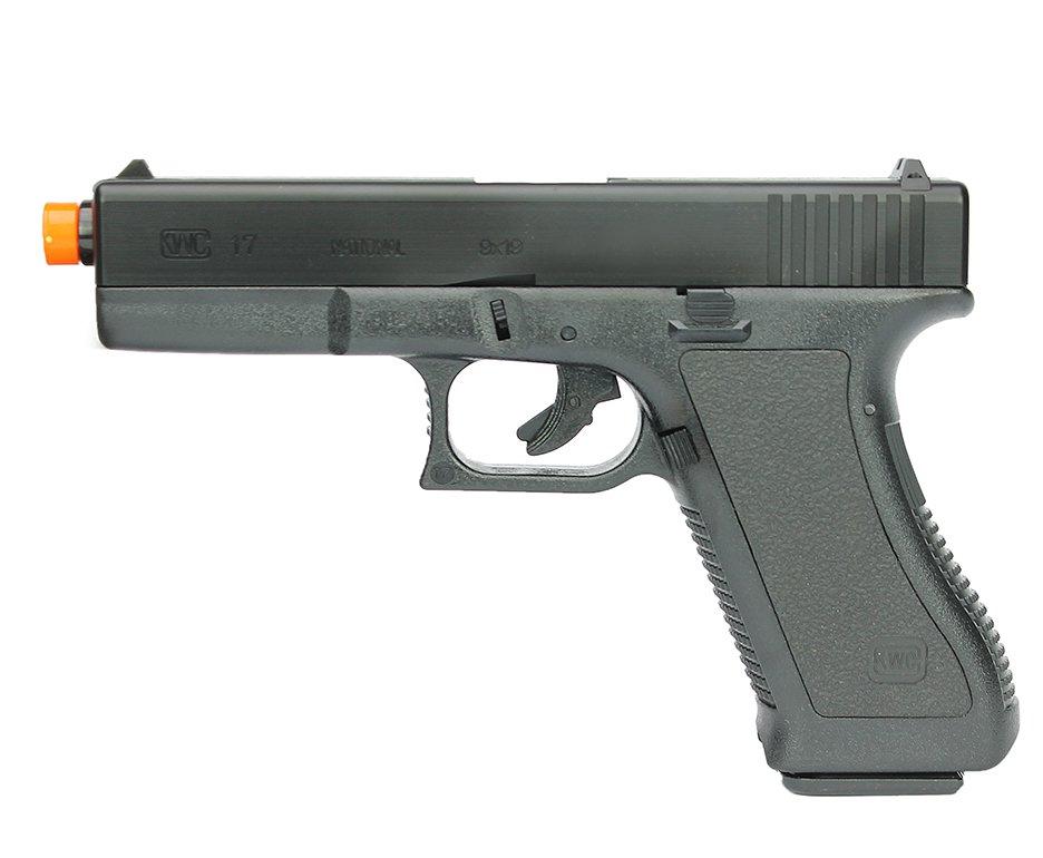 Pistola De Airsoft Glock G17 K17 Spring 6mm Kwc