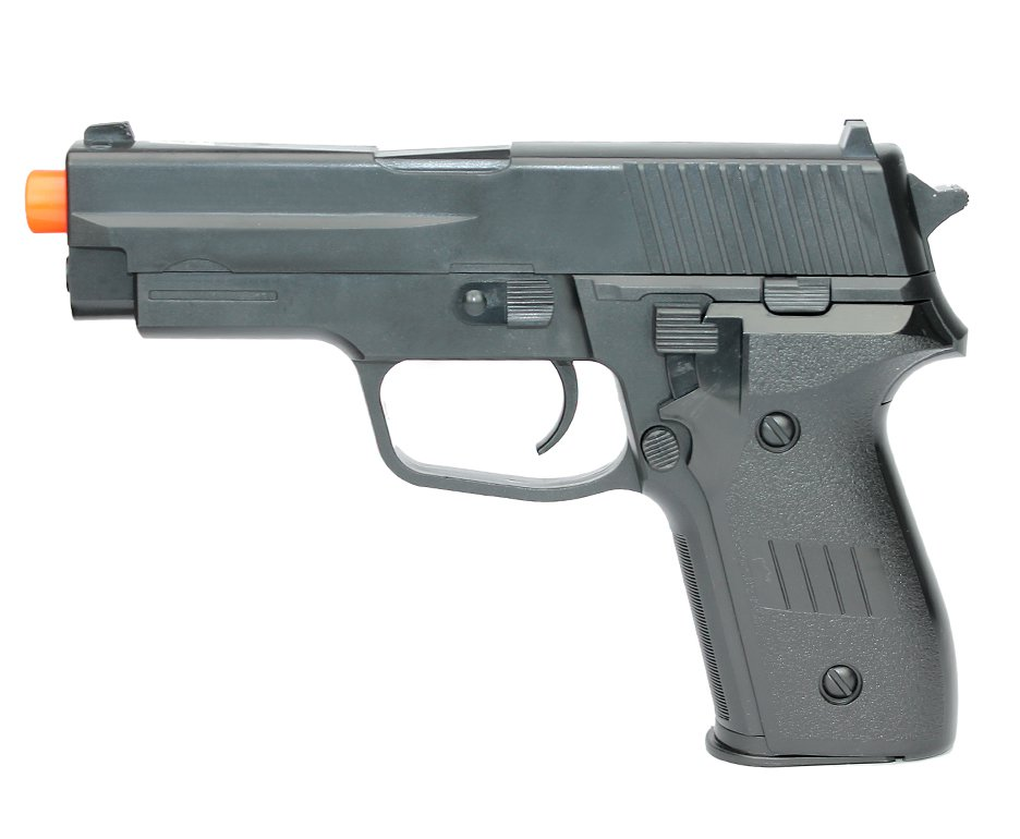 Pistola De Airsoft Vg P226 Spring 6mm Rossi Vigor