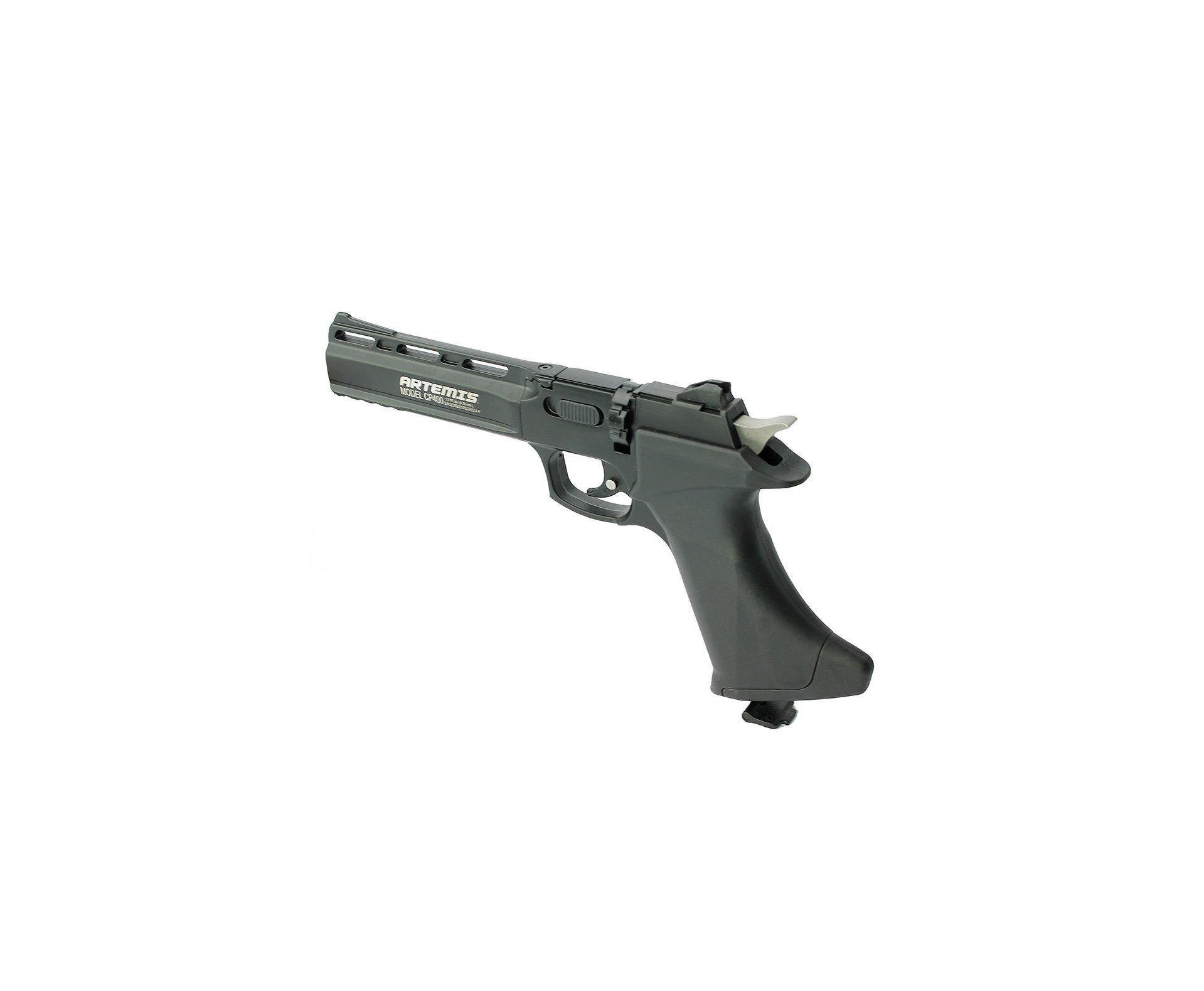 Pistola De Pressão Co2 Cp400 Orion 8 Tiros Artemis 4,5mm