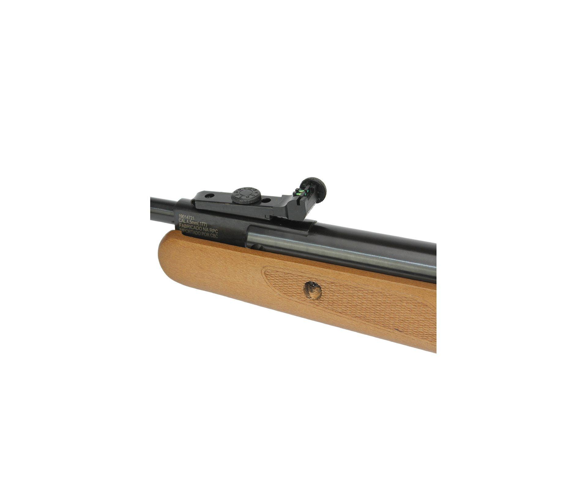 Carabina De Pressão Cbc B19-x 4,5mm Precision Gás Ram 50kg Instalado