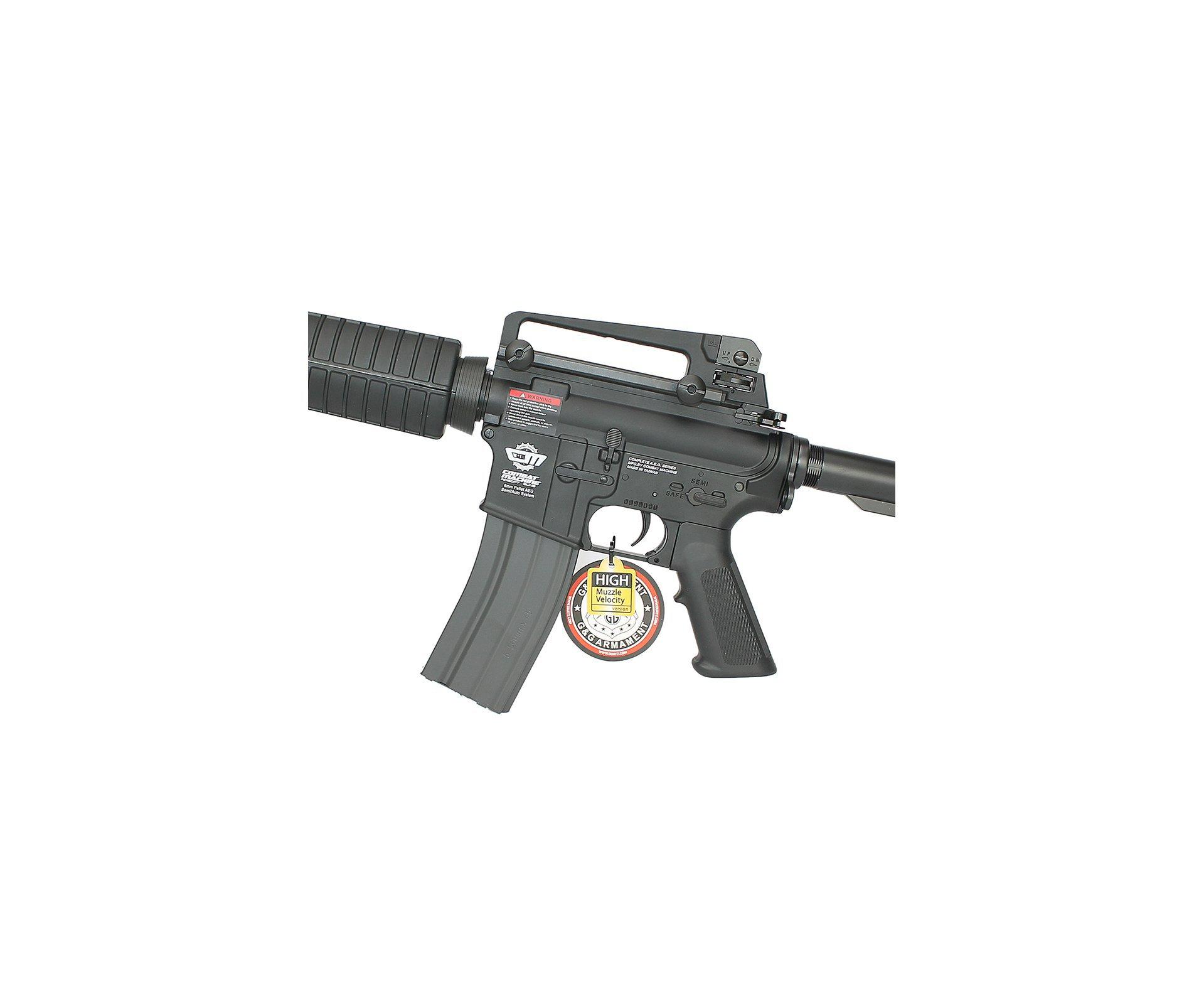 Rifle De Airsoft G&g Cm16 Carbine 6.0mm Aeg G&g