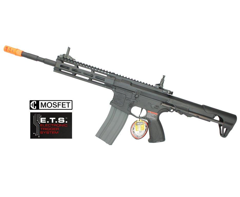 Rifle De Airsoft G&g M4a1 Cm16 Raider L 2.0e Gatilho Etu E Mosfet Aeg 6,0mm