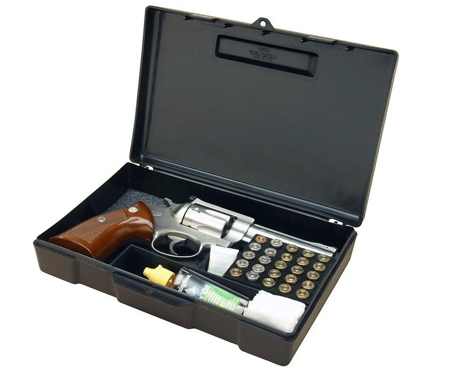 Maleta Case 804 Para Pistola Ou Revólver Com Porta Munição - Mtm