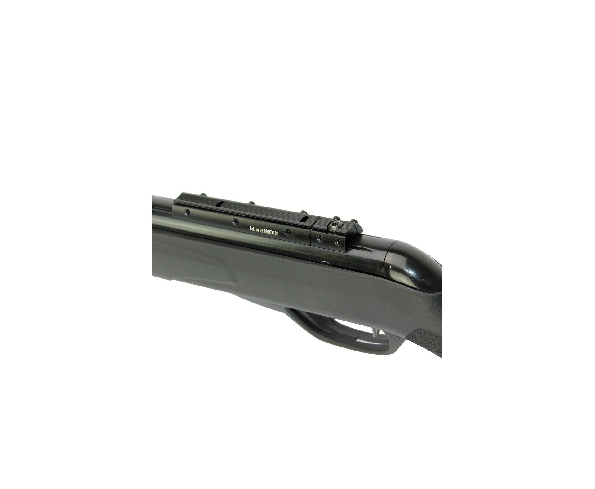 Carabina De Pressão Black Fusion Igt Mach 1 Gas Ram-  Polimero Cal 5,5mm - Gamo
