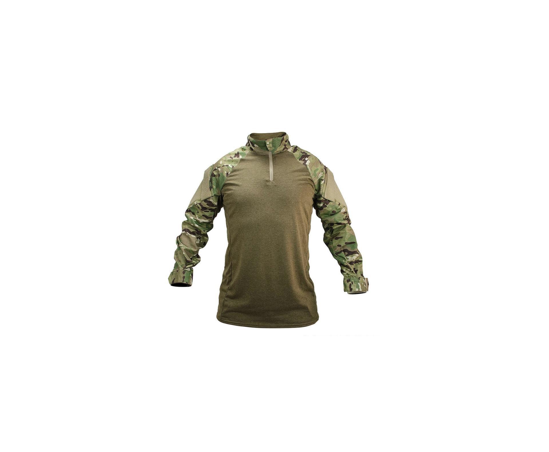 Camisa De Combate For Honor Adulto Poliester 711 Camuflado Multicam  - M