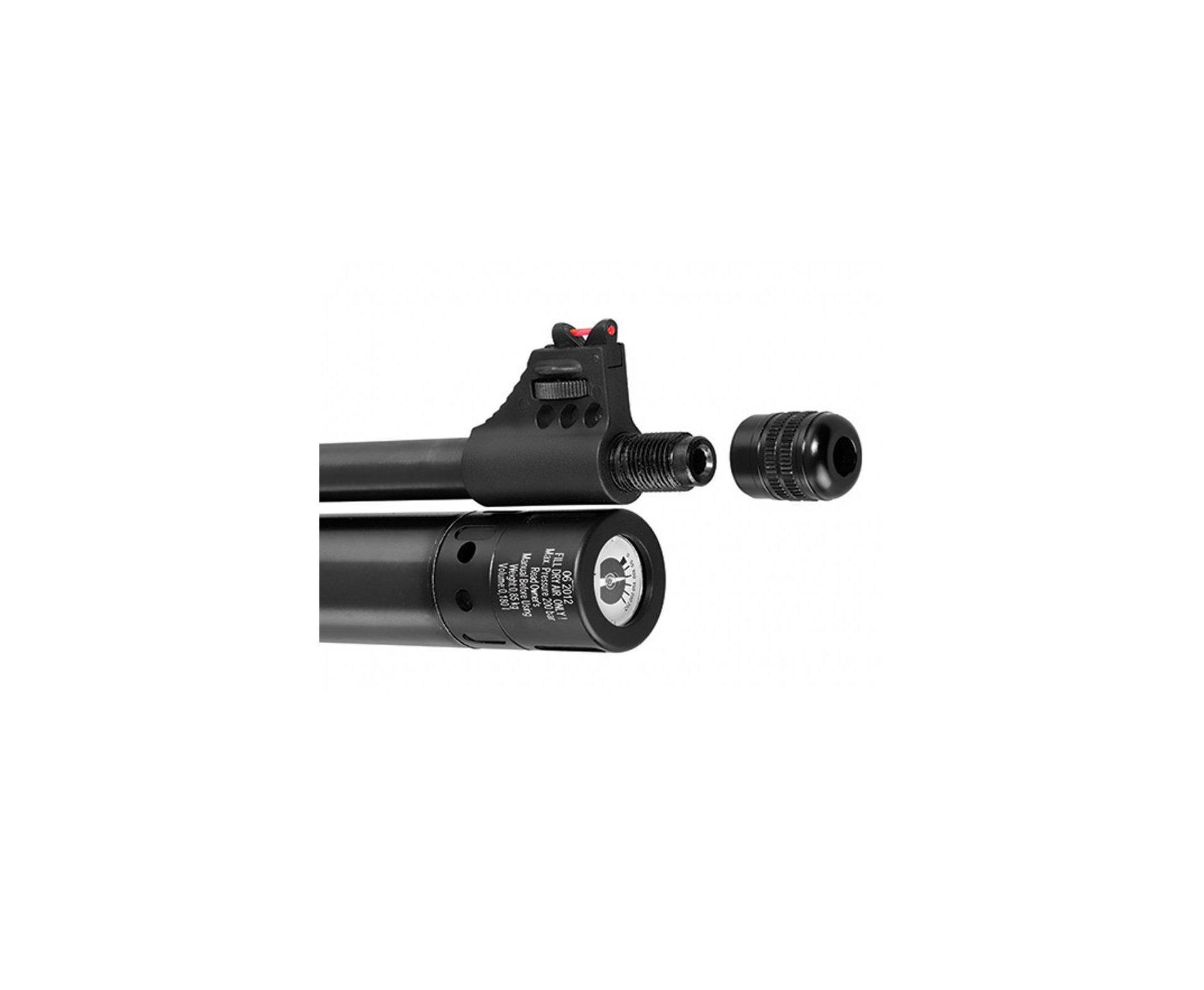"Carabina De Pressão Hatsan Pcp At44 - Calibre 4,5 Mm + Capa 46"""
