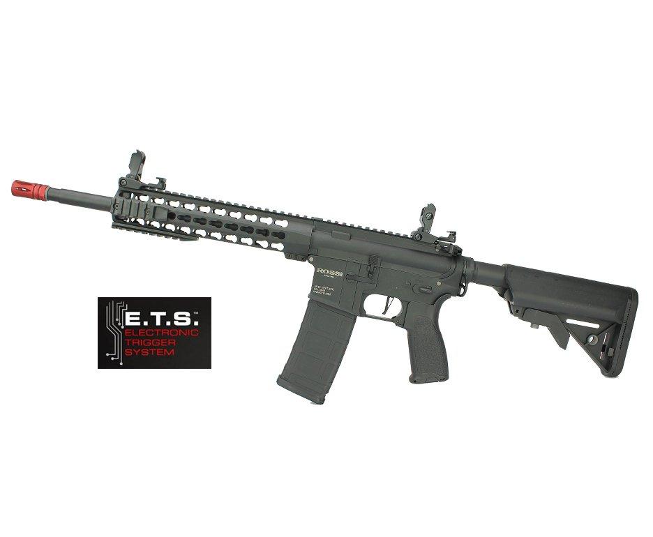 "Rifle De Airsoft Ar15 Neptune Full Metal Keymod 10"" Gatilho Et Elet 6mm Rossi"