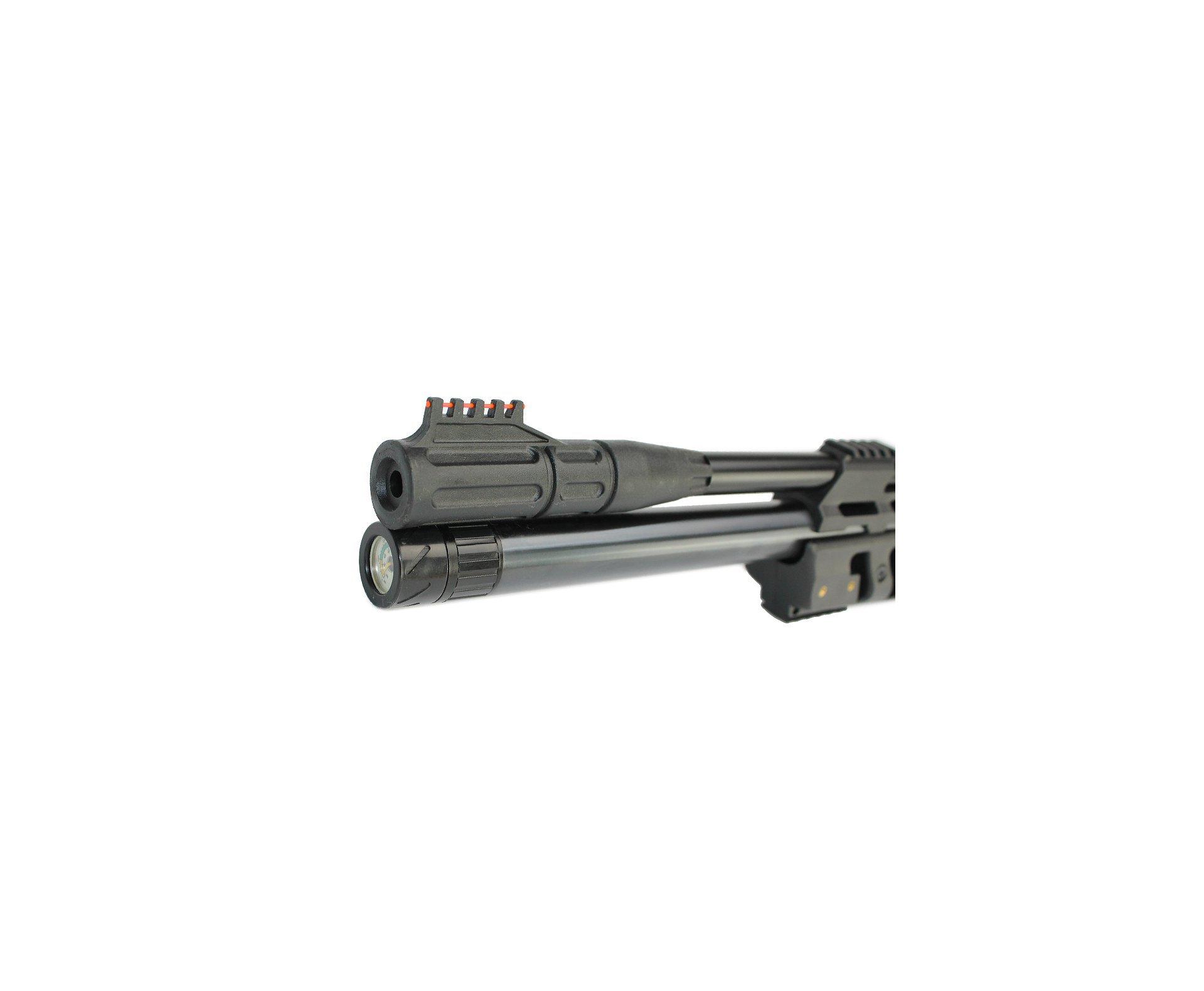 Carabina De Pressão Pcp Cbc Sentry 8 Tiros Coronha Madeira 5,5mm