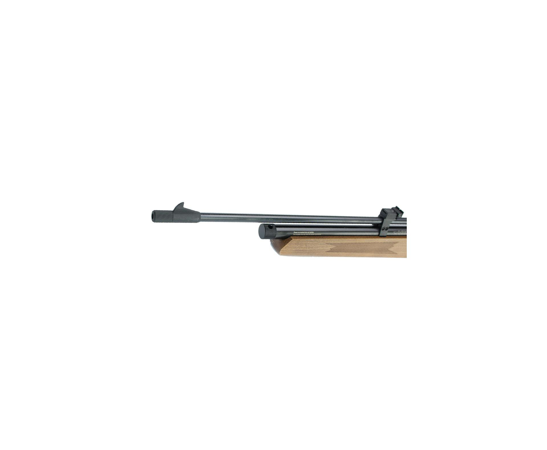 Carabina De Pressão Gas Co2 Cr600w River 7 Tiros 5,5mm Qgk By Spa