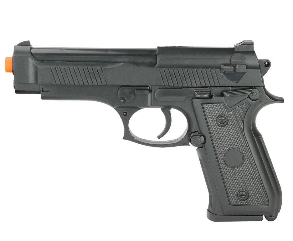 Pistola De Airsoft Vg P92-038 Polímero Mola 6mm