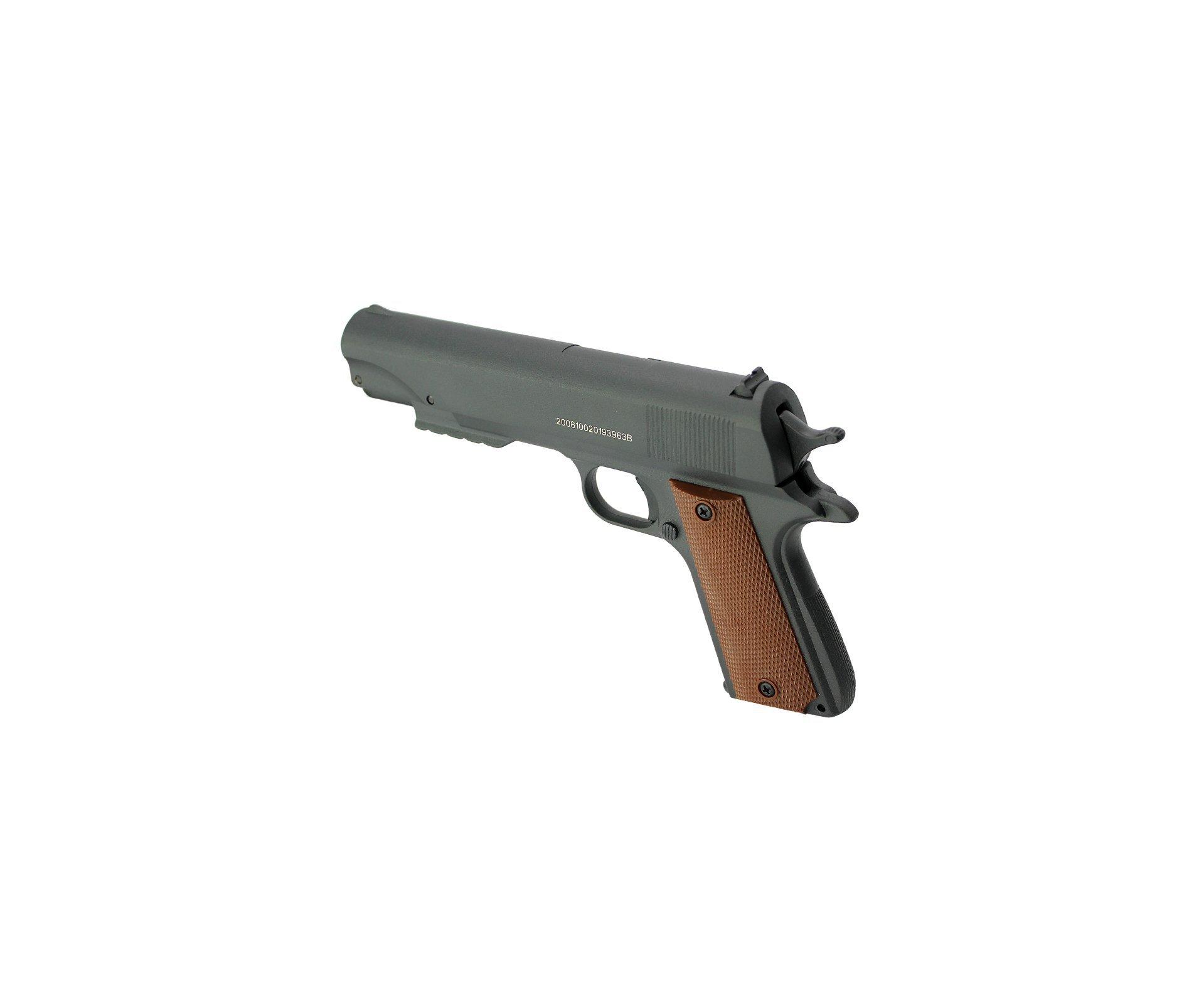 Pistola De Pressão Fox Multi Pump Cal 5,5mm Qgk By Spa