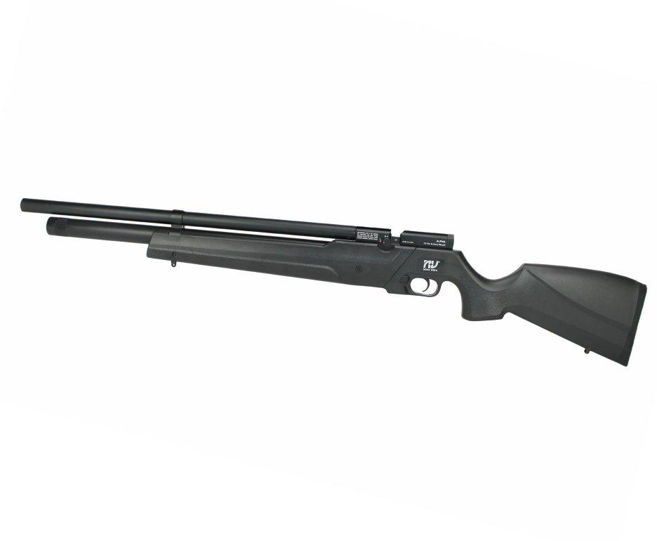 Carabina De Pressão Pcp Alpha Black Multishot 10 Tiros 4,5mm