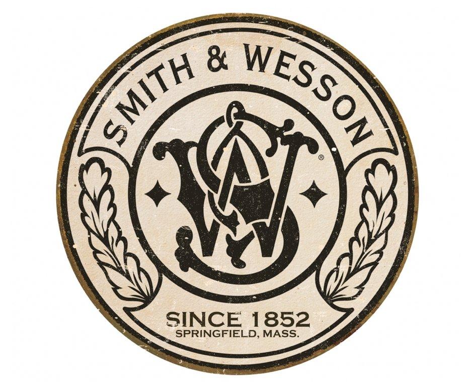Placa Metálica Decorativa Smith & Wesson - Rossi