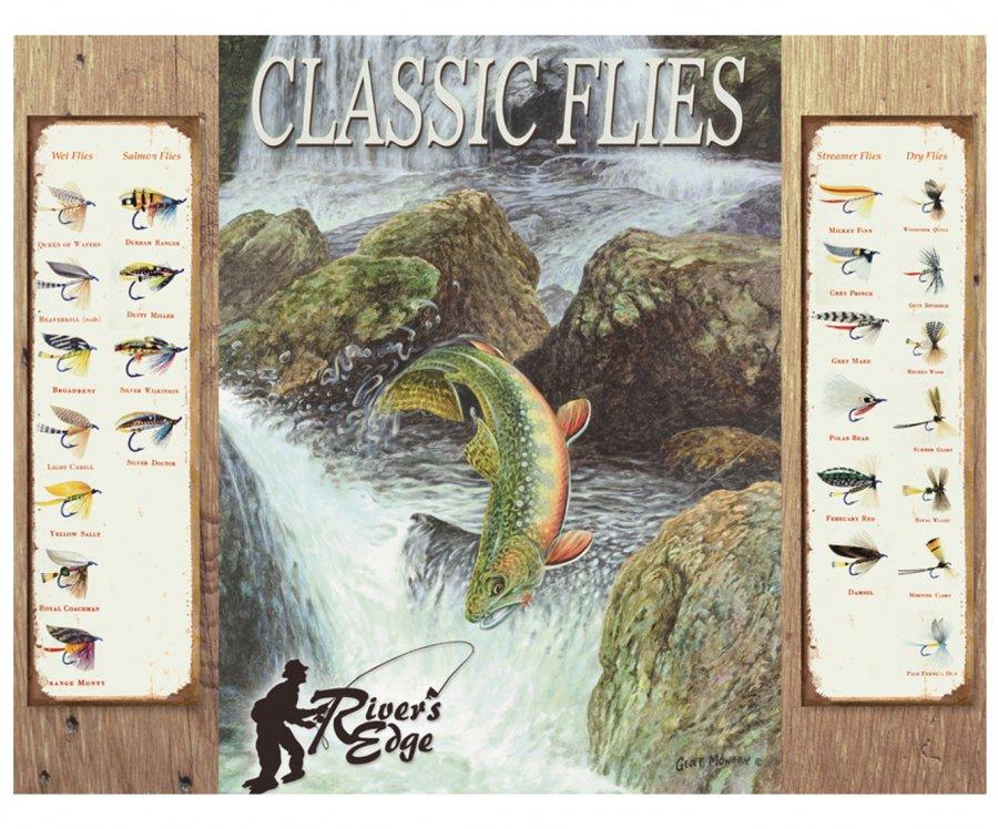 Placa Metálica Decorativa Classic Files - Rossi