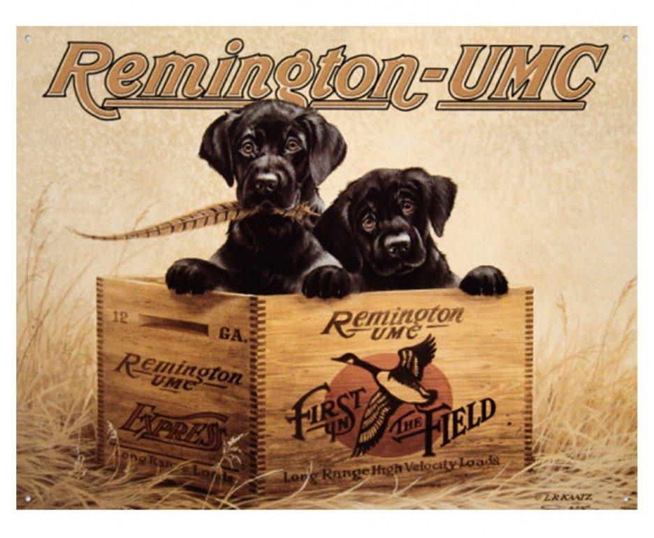"Placa Metálica Decorativa Remington Finder""s Kee - Rossi"