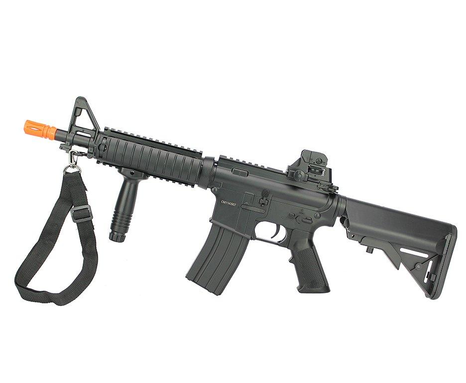 Rifle De Airsoft M4 Ris Cqb Cm176n Aeg Bivolt - Cyma
