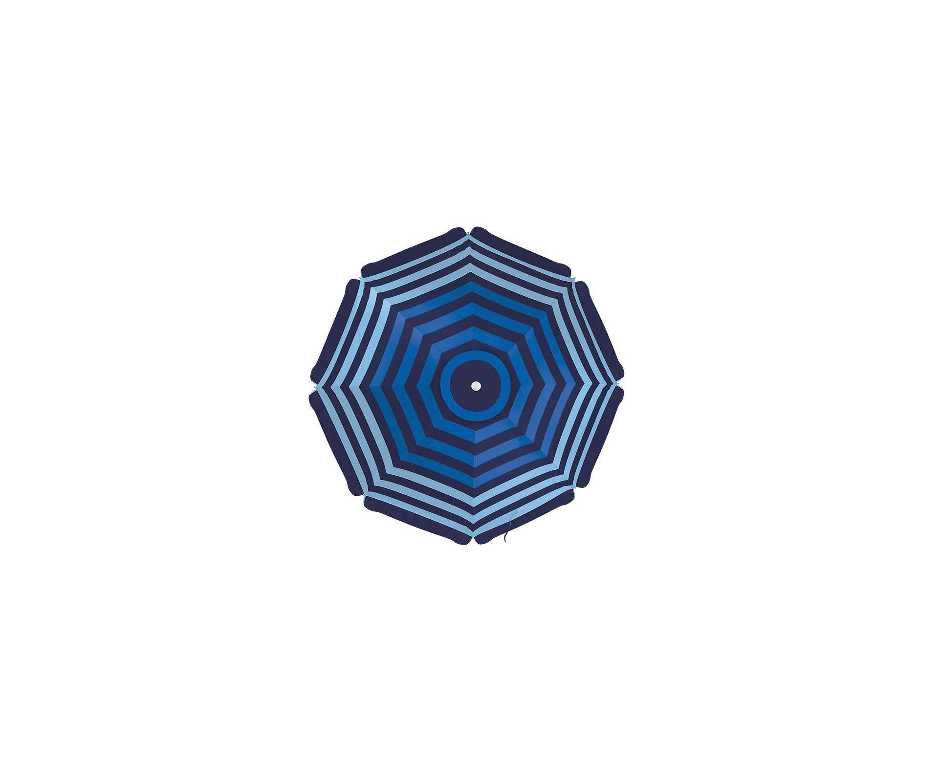 Guarda - Sol Alumínio Azul 2,00 X 2,00 Metros 100fps  - Mor