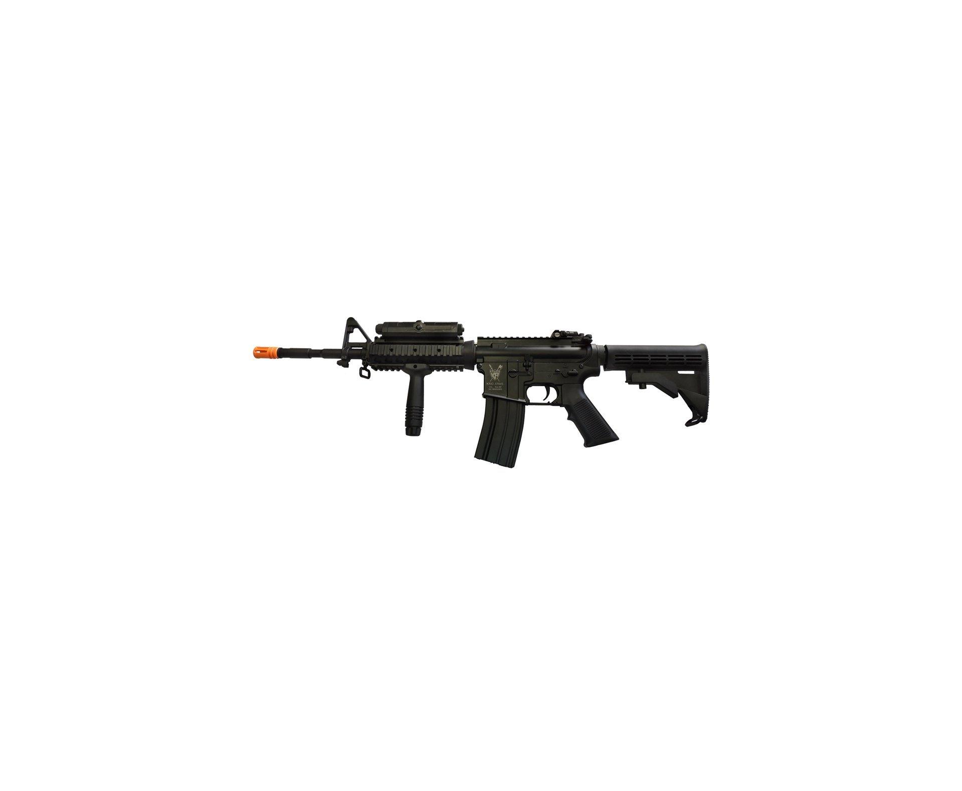 Rifle De Airsoft M4 Ris Advance Full Metal Cal 6.0mm - King Arms