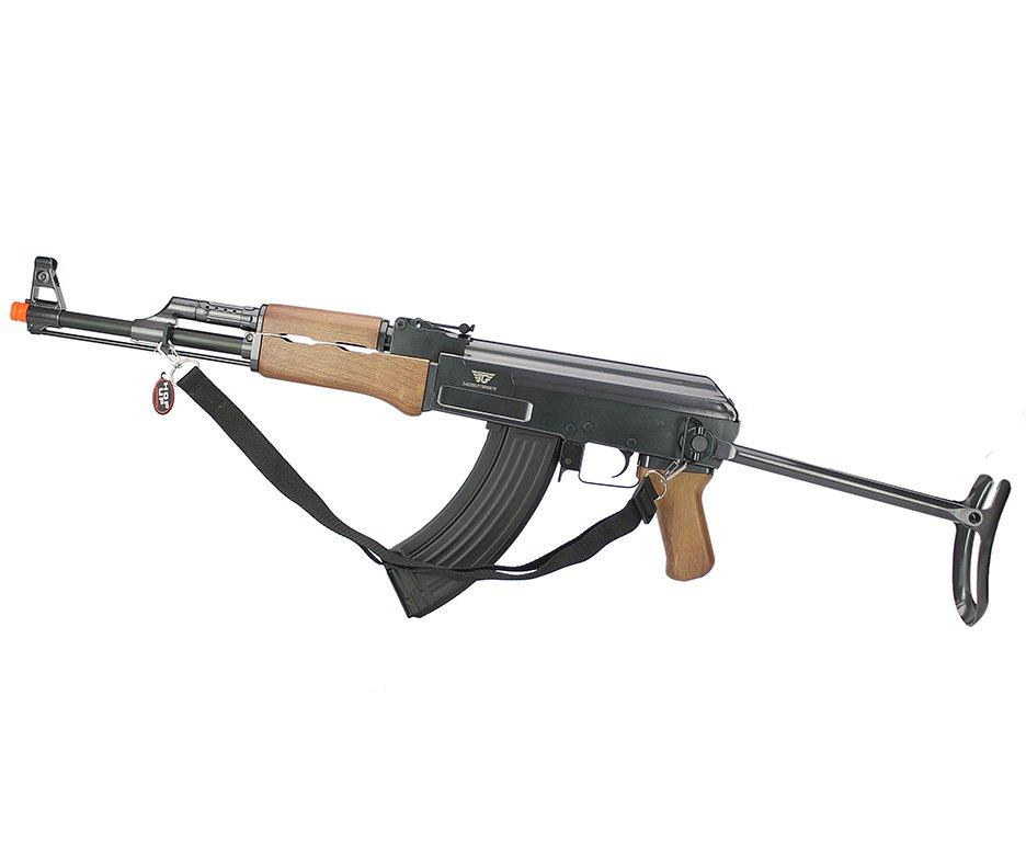 Rifle De Airsoft Ak47 Aeg Cal 6mm Jing Gong A47-0507mg