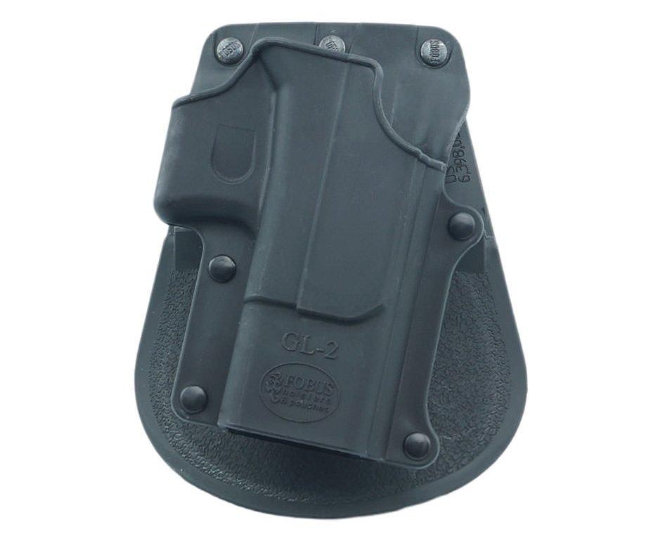 Coldre De Cintura Fobus Paddle Holster Para Glock 17/19