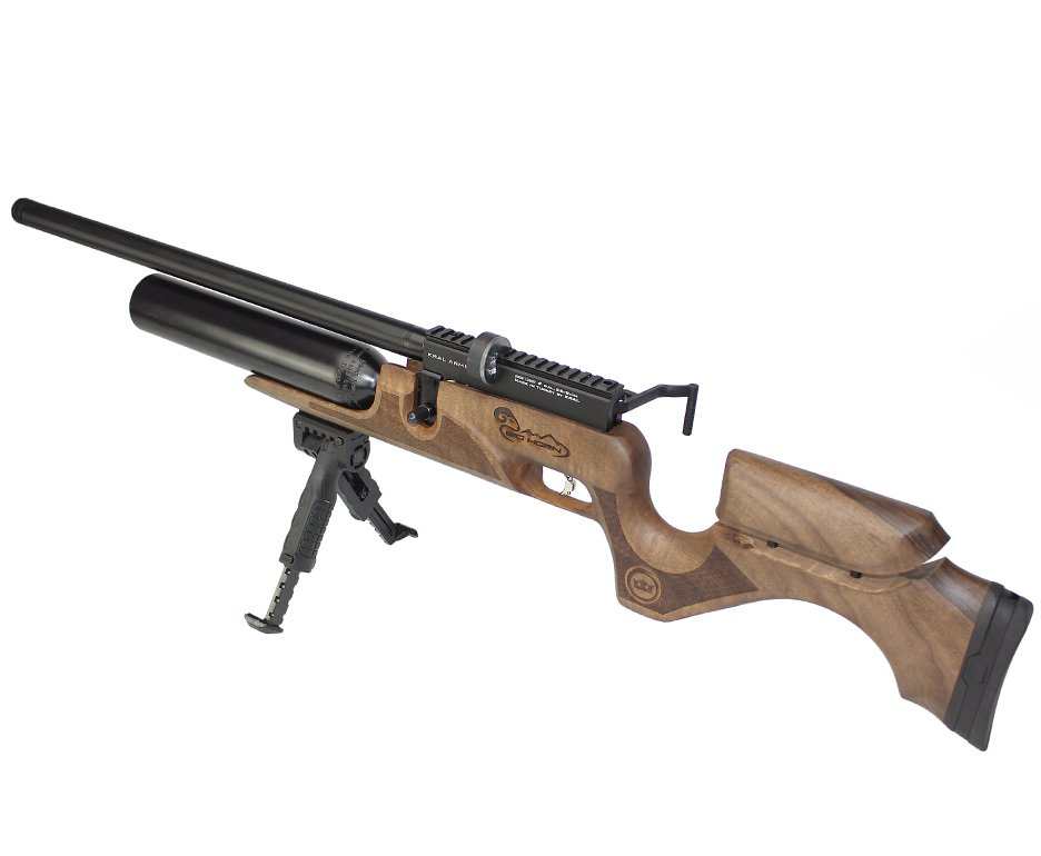 Carabina De Pressão Pcp Puncher Bighorn 10 Tiros 6.35mm Kral Arms