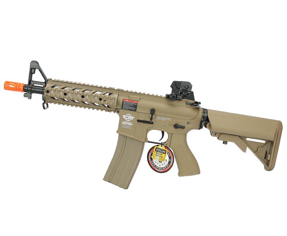 Rifle de Airsoft M4 CM16 Raider Curto Mod Dst AEG Cal 6,0mm G&g