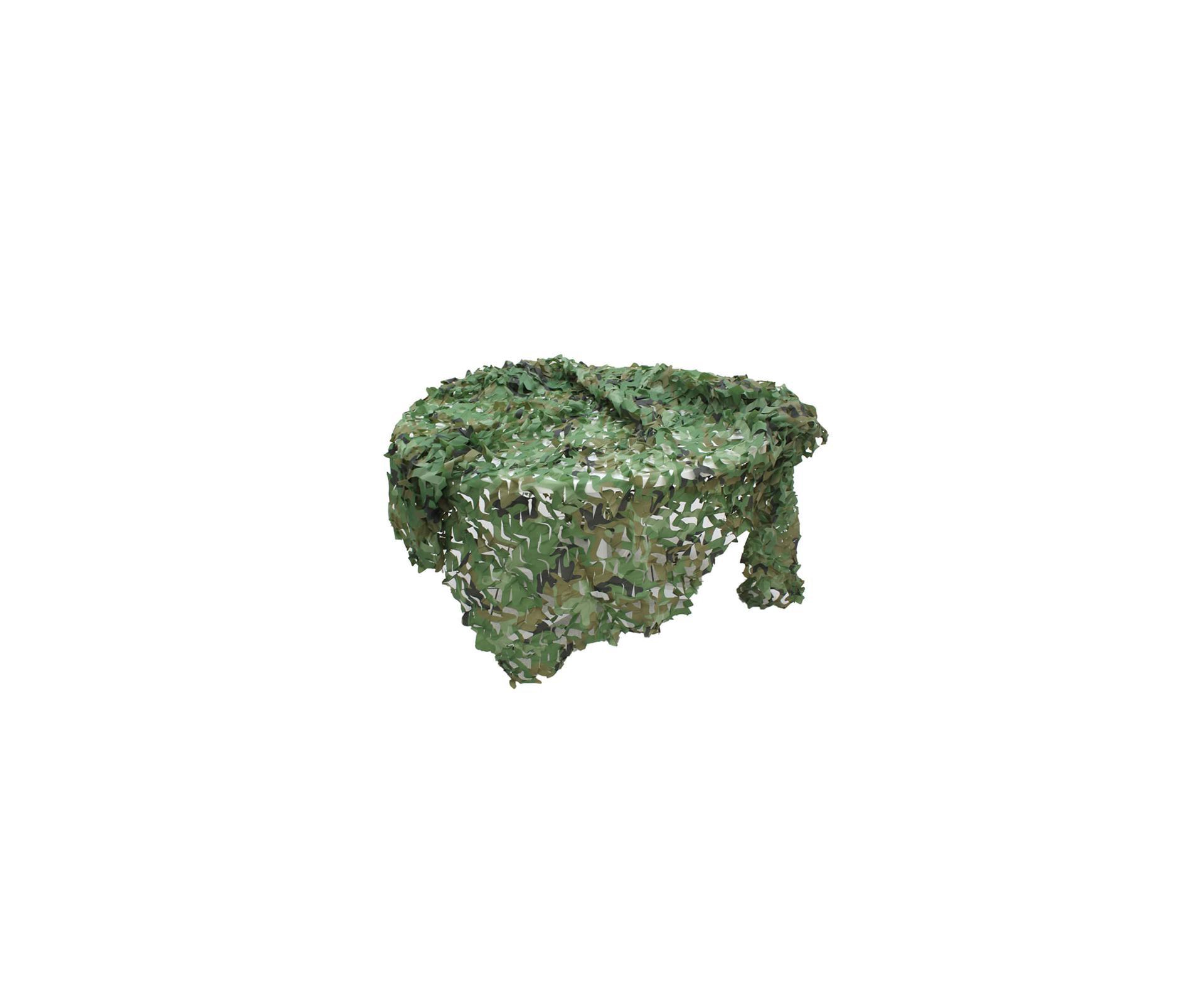 Rede De Camuflagem Forest Ntk Tático De 2x3 Metros