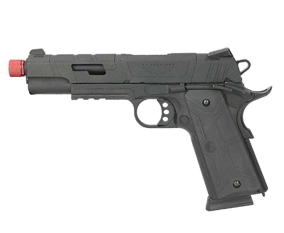 Pistola De Airsoft Gbb Redwings 1911 Blowback Neptune Rossi Cal 6mm