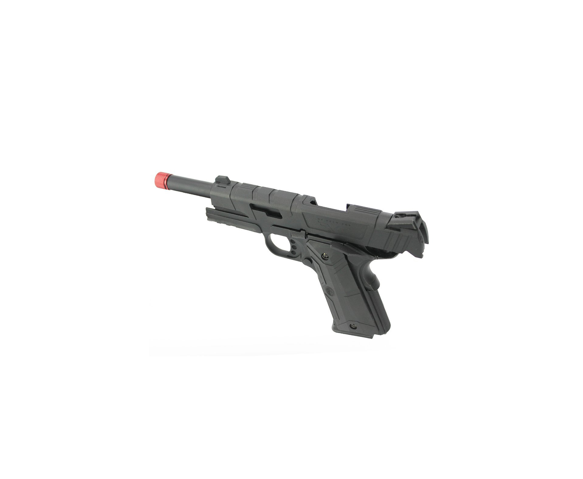 Pistola De Airsoft Gbb 1911 Black Devil 5.1 Blowback Neptune Rossi 6mm