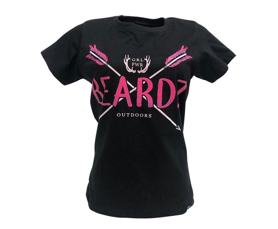 Camiseta Feminina Beardz Pink Arrow Ts13