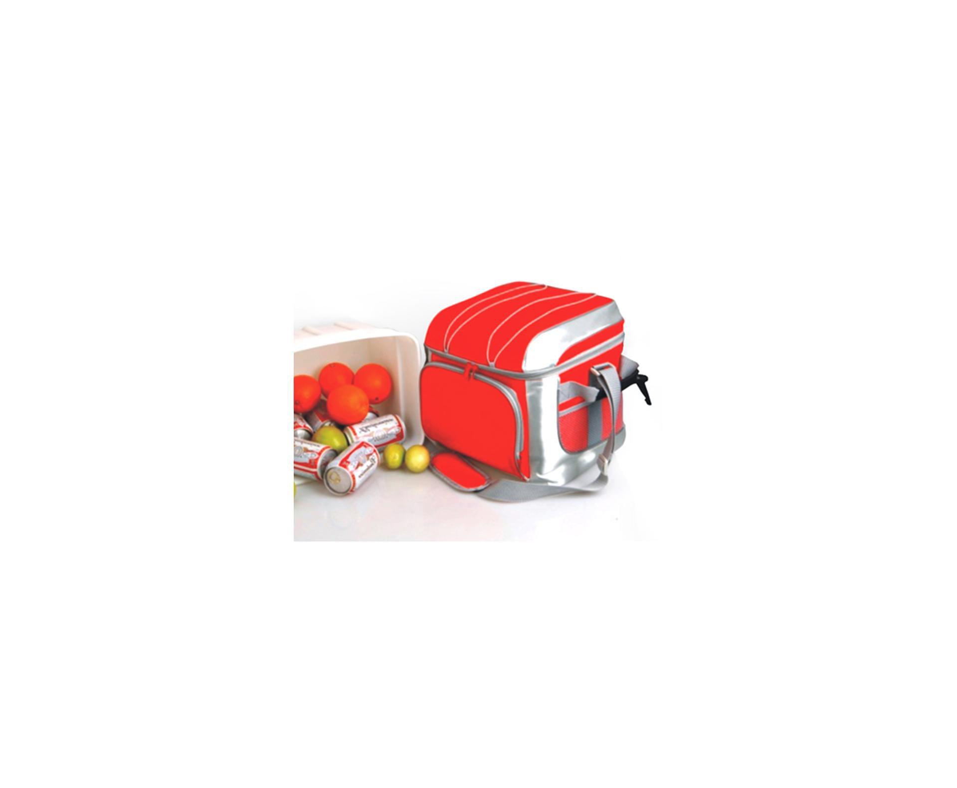 Cooler Bora Vermelho Capacidade 24 Latas - Nautika