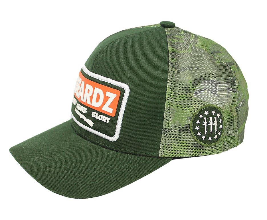 Boné Snapback Beardz Outdoors Green B1024