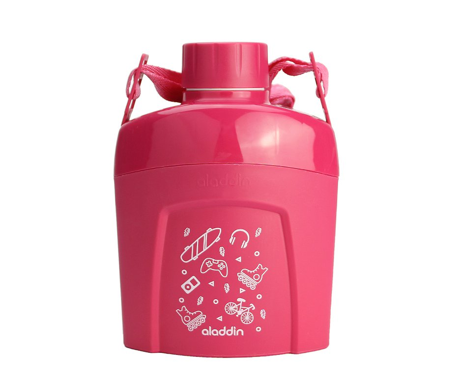 Cantil Térmico Aladdin Kids Pink 0.60l
