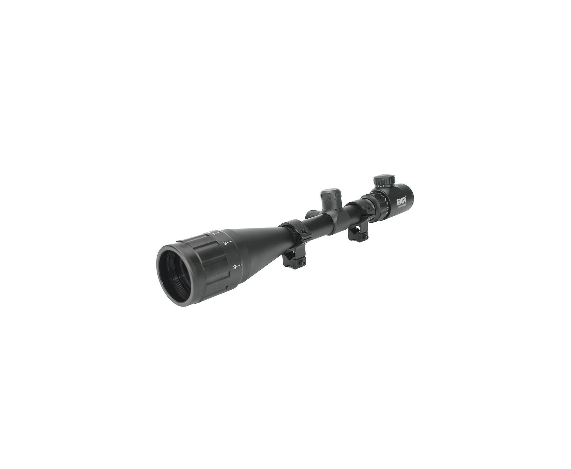 Carabina De Pressão Pcp M25 Thunder Black 5.5mm Artemis Fxr + Luneta 6-24x50ao + Mount Anti Impacto - Fxr