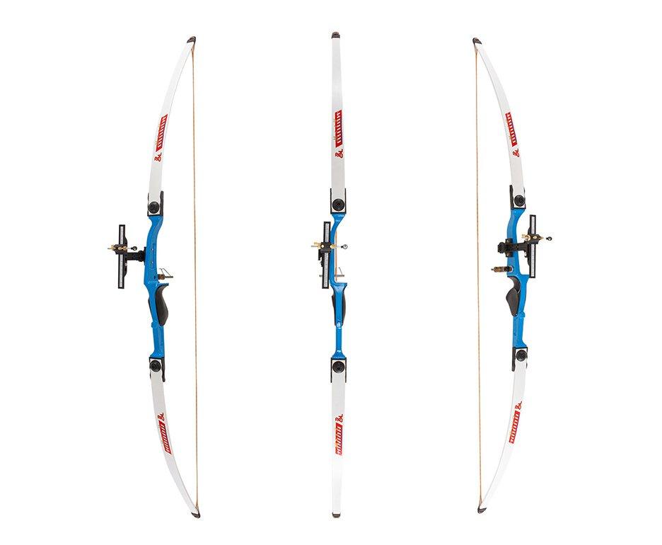 Arco Recurvo 22 Libras Azul (destro) Junxing