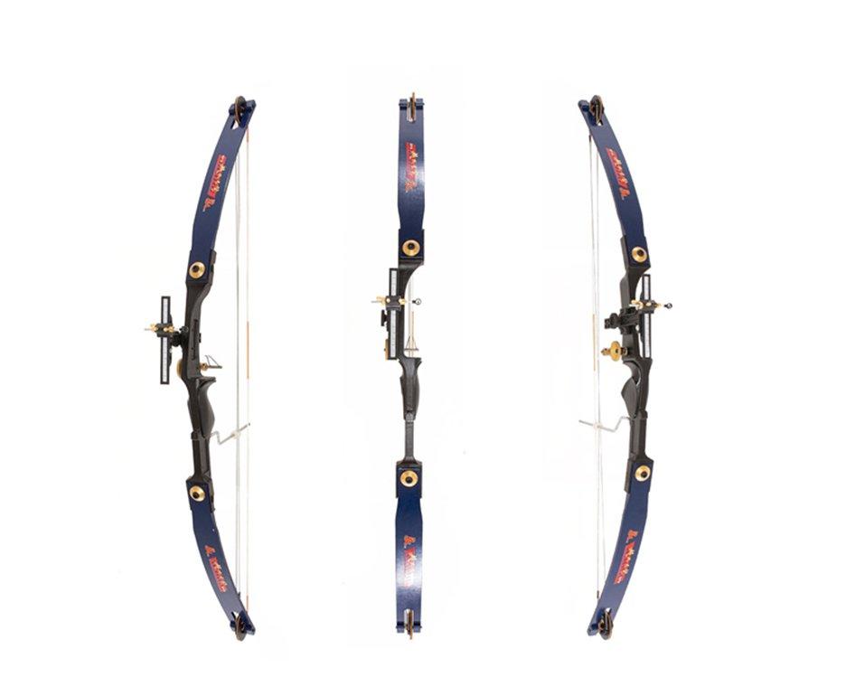 Arco Composto 30 Libras Azul (destro) Junxing