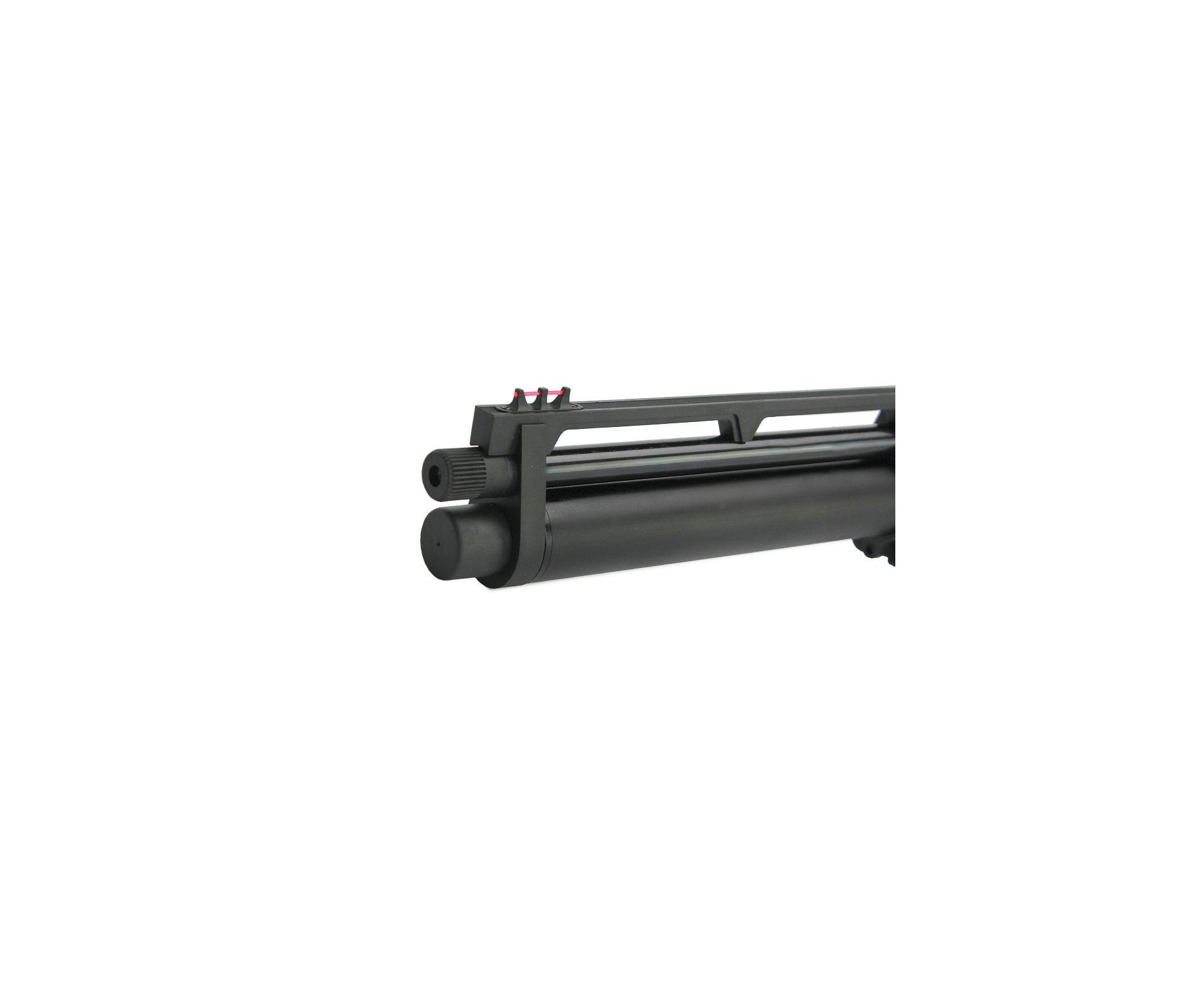 Carabina De Pressão Pcp Rossi R8 Black 5,5mm 8 Tiros 350 M/s