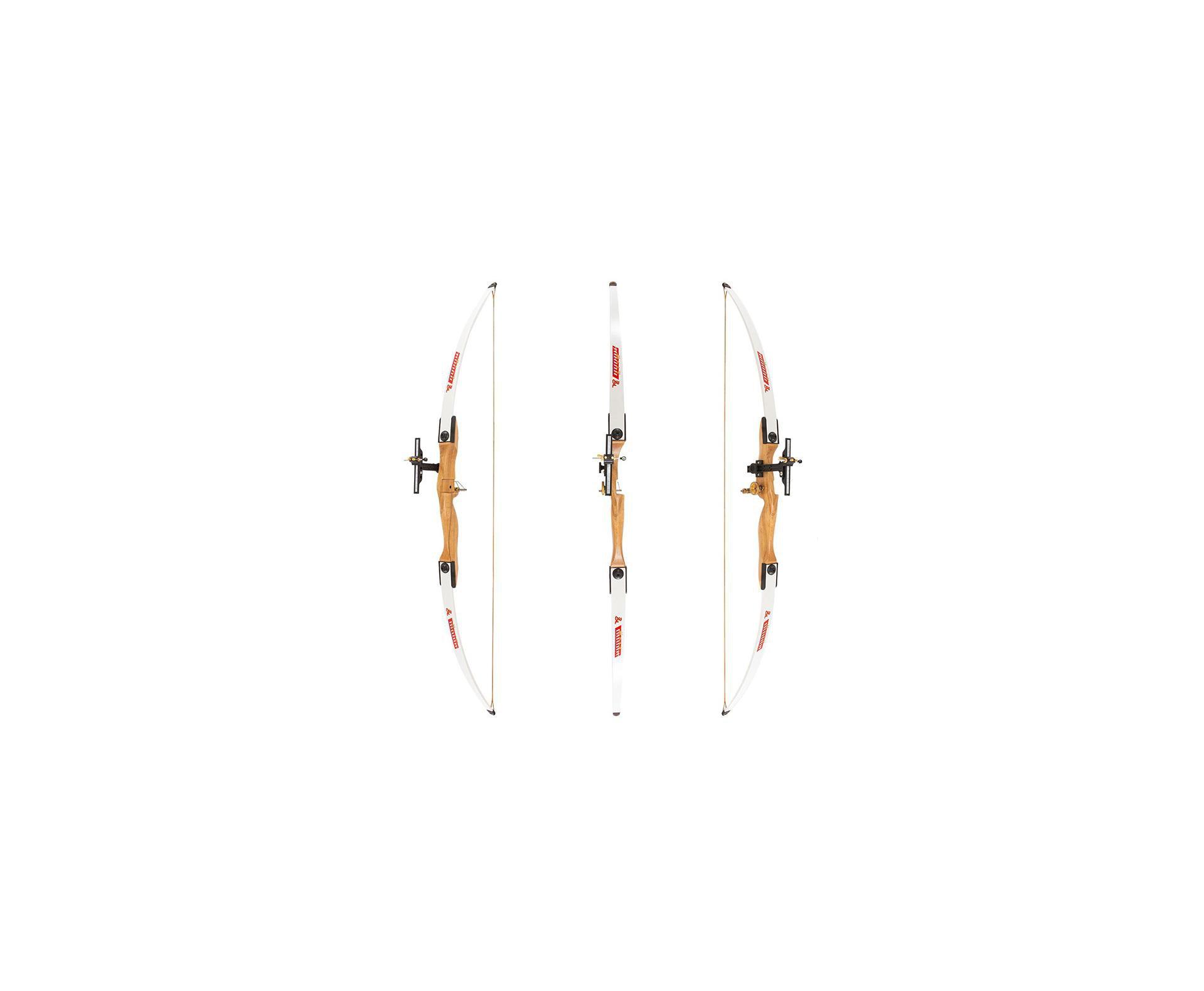 Arco Composto 38 Libras Em Madeira Branco (destro) Junxing