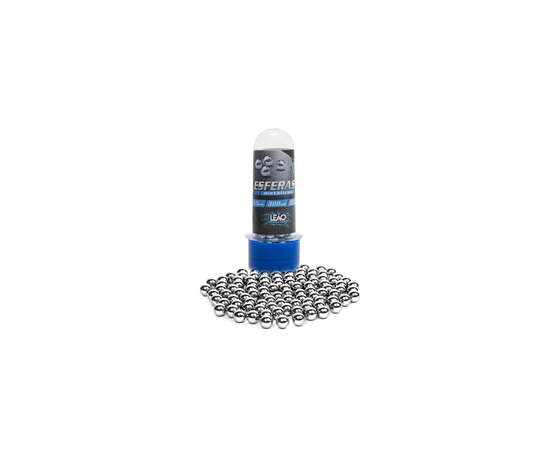 Esfera Metalica Aço 4.5mm Com 300unds - Leão
