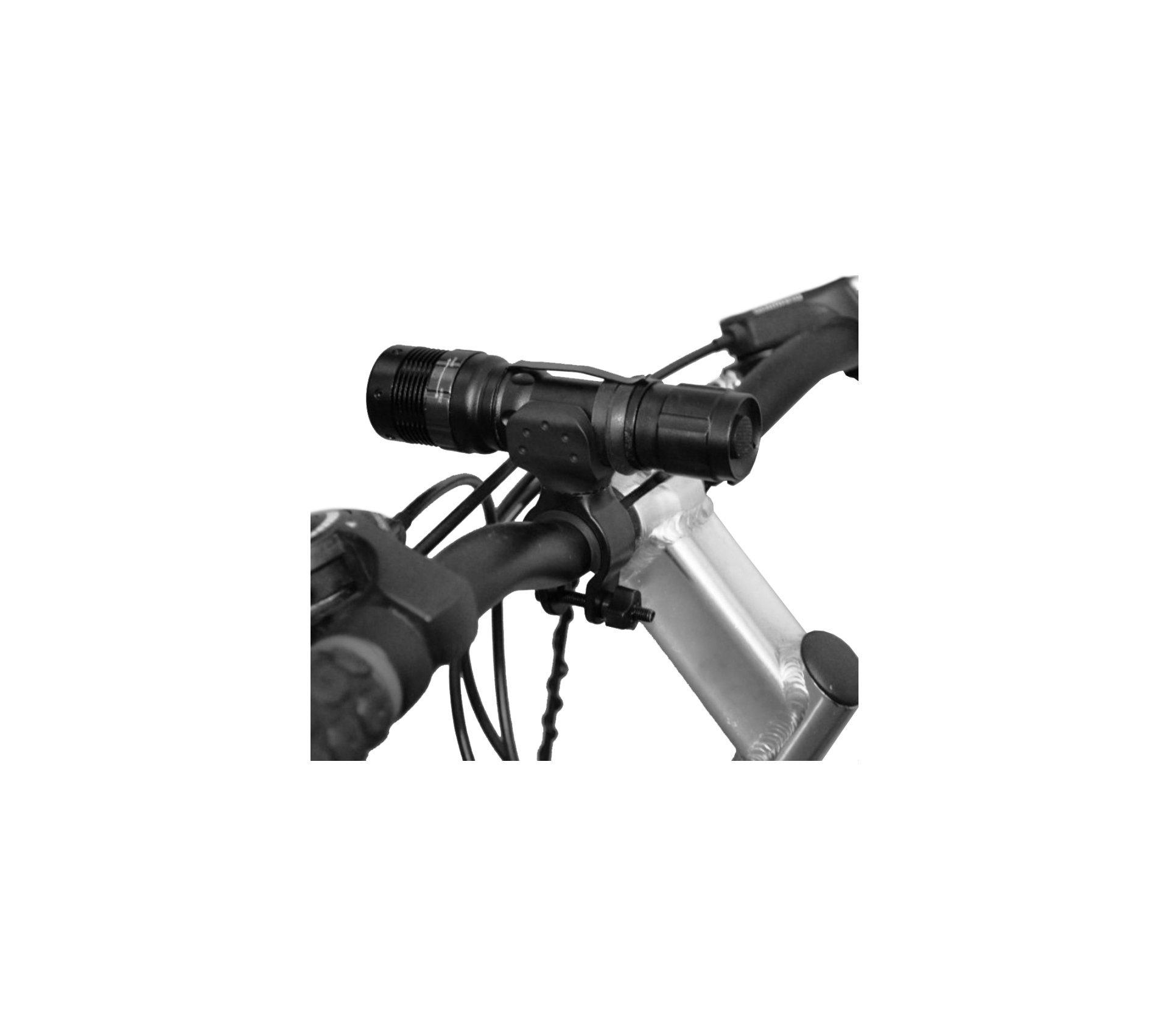 Suporte Giratório Para Lanterna - Bike E Carabina - Guepardo