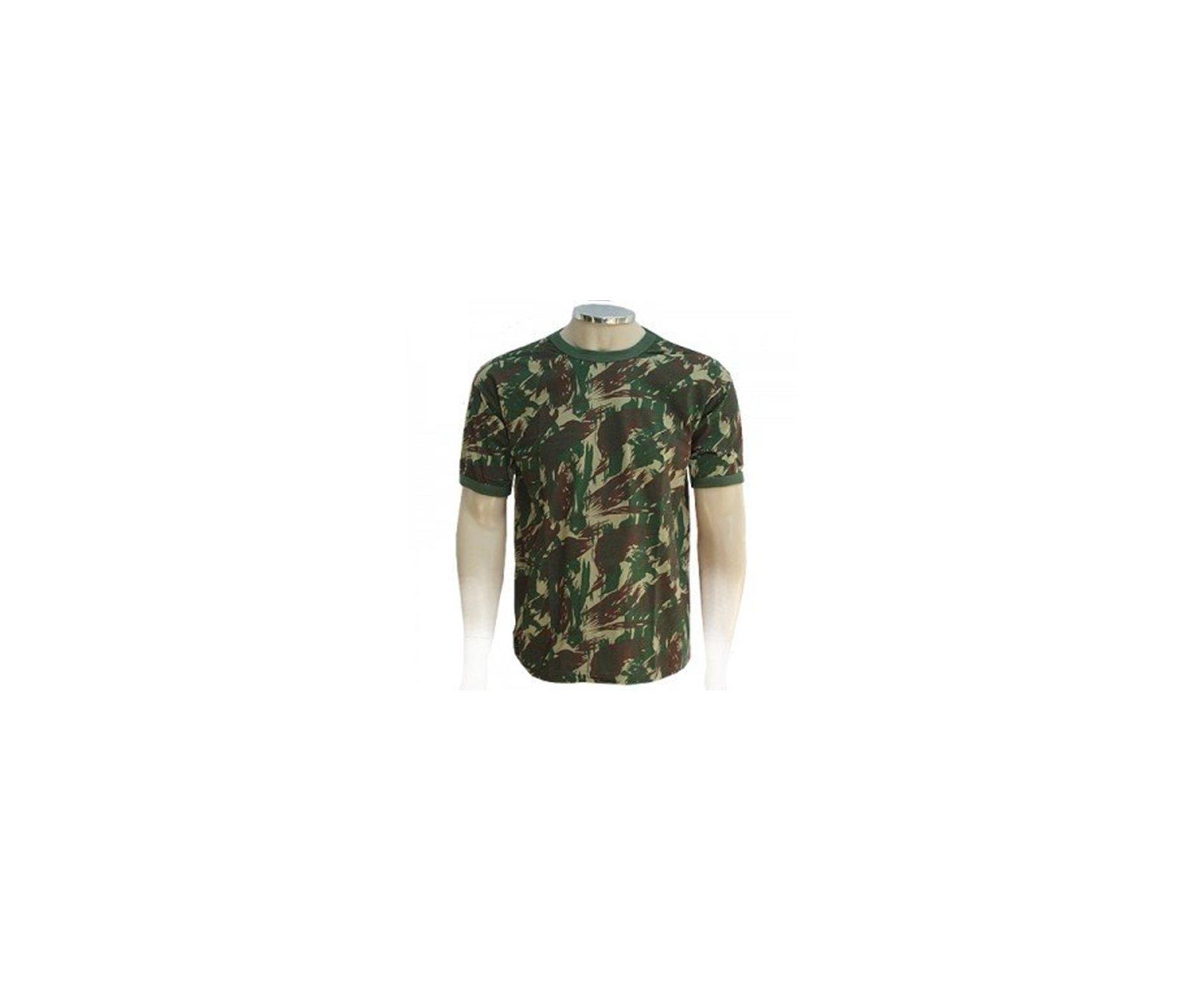 Camiseta Camuflada Padrão Eb Manga Curta - M