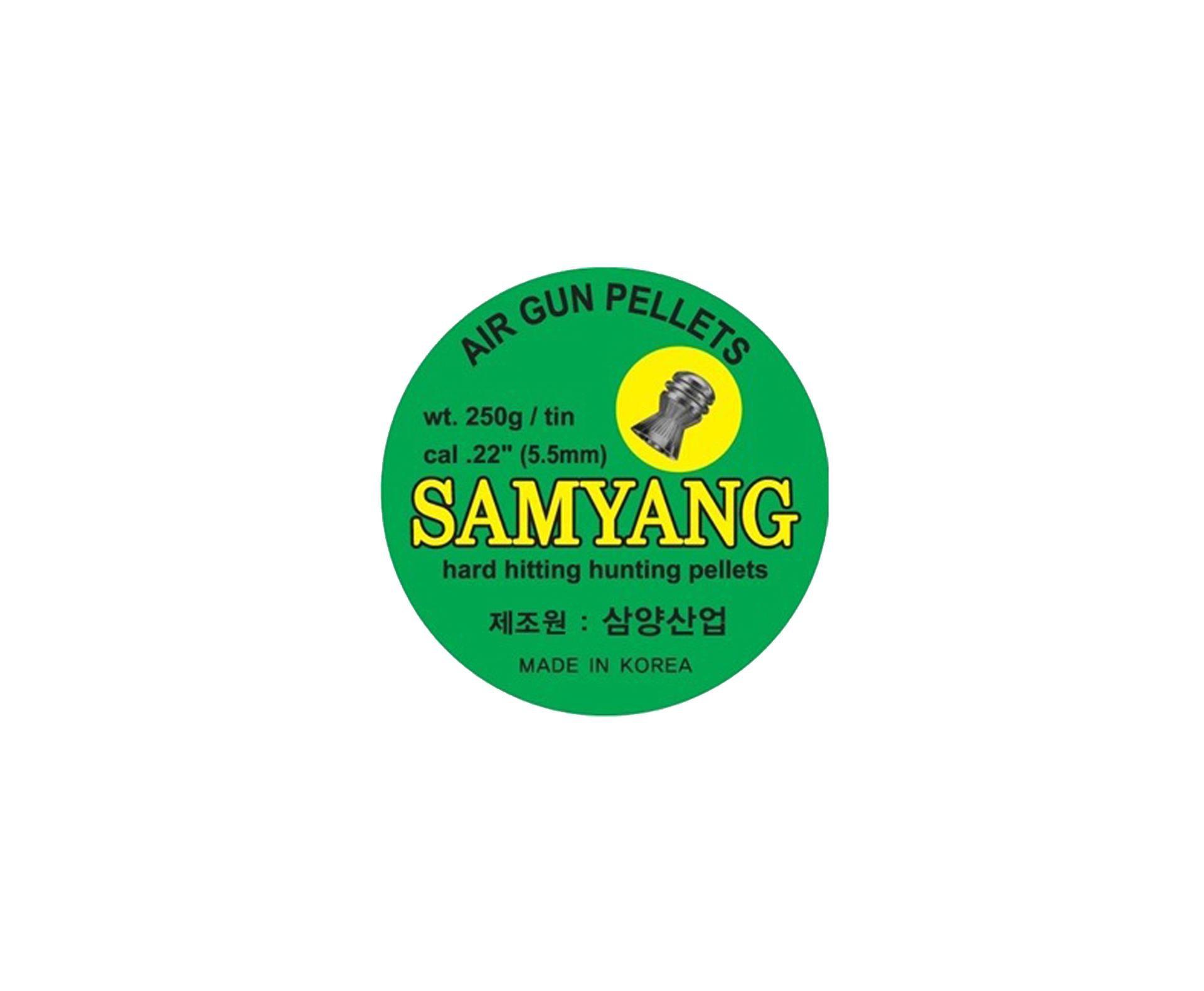 Chumbinho Domed Calibre 5,5mm - 250 Unidades - Samyang