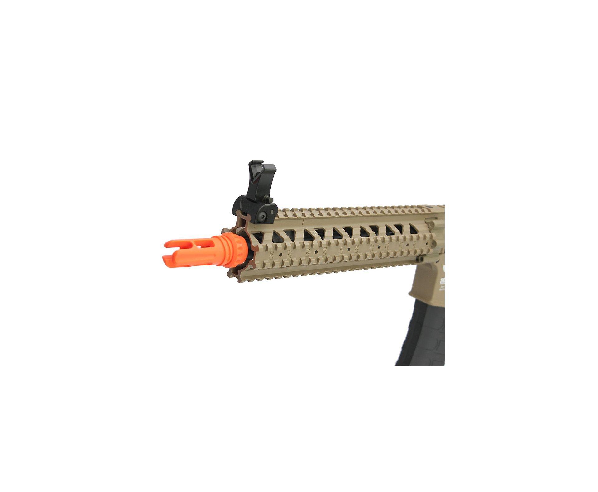 Rifle De Airsoft Cm18 Ris Mod 1 Dst Long - Calibre 6,0 Mm - Aeg - G&g
