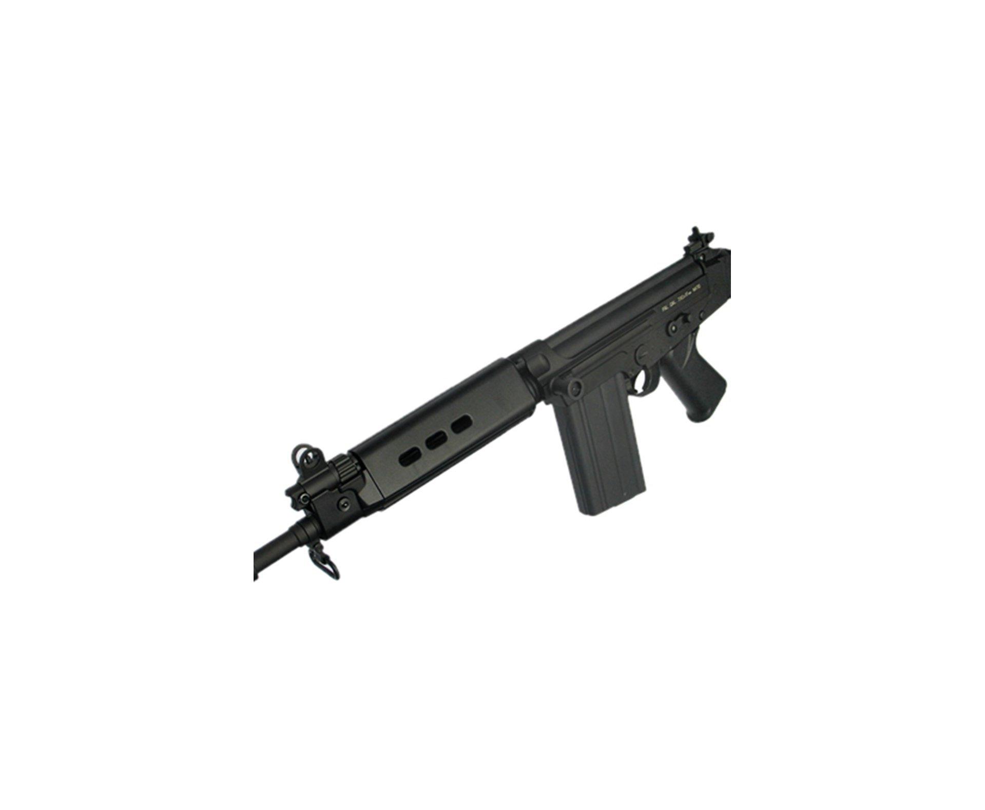Magazine Airsoft Para Rifles Fal King Arms E Cyber Gun - 90 Bbs