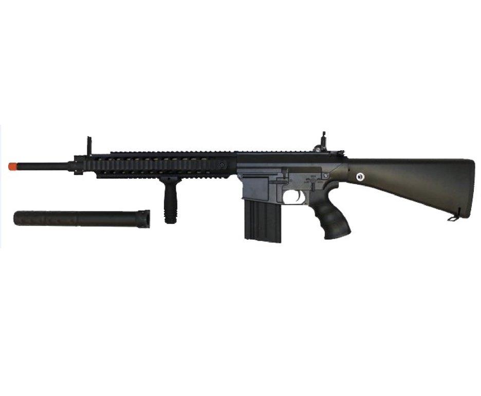 Rifle De Airsoft Sr25 Sniper - A&k