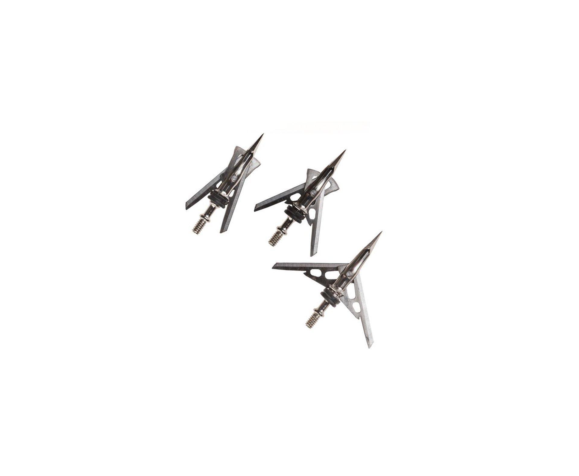 Ponteria Hypodermic Rosqueável 2 Lâminas - Cartela Com 3 Ponteiras - Ar Mais